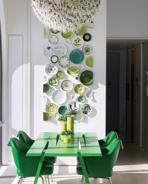 greenery bold pieces