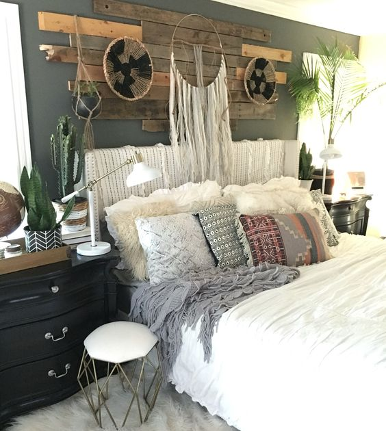 boho chic bedroom cozy