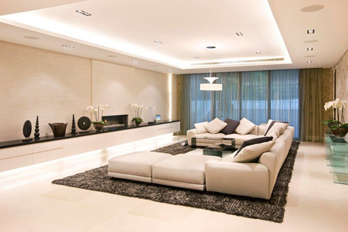 mesut ozil living area