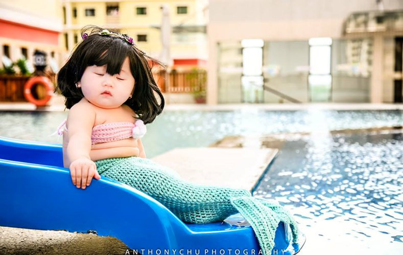 baby mermaid costume