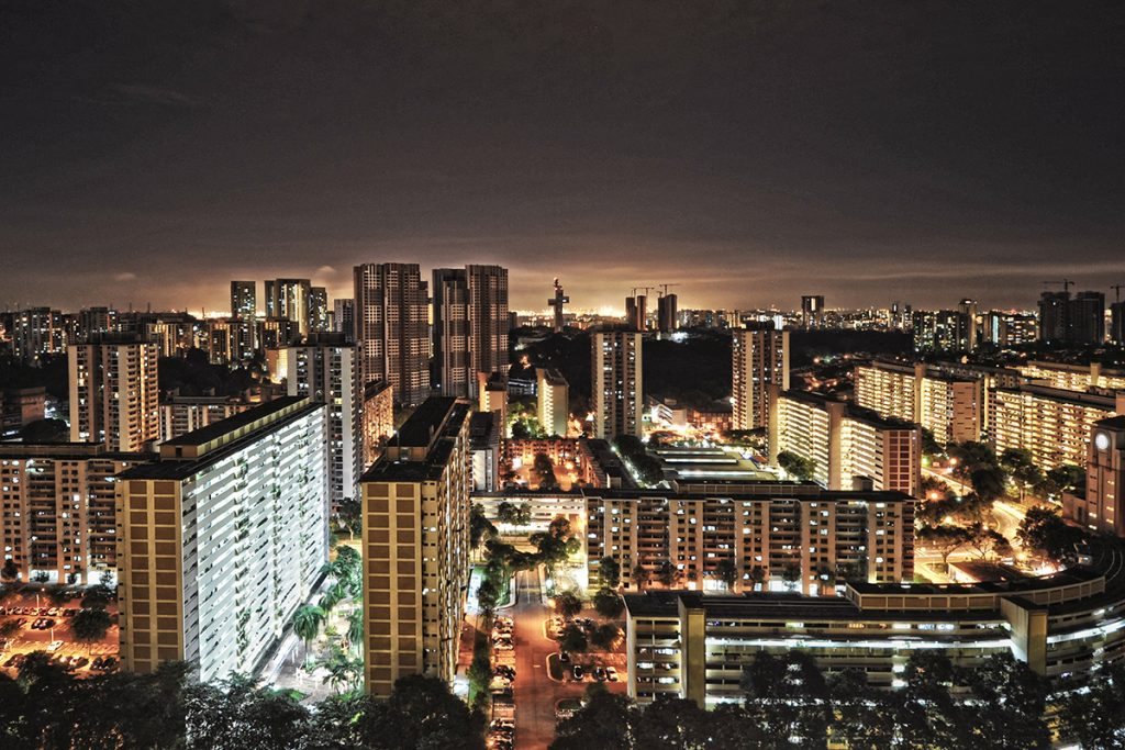 singapore nightview