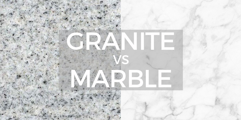 Should you get marble or granite countertops for Granito vs marmol