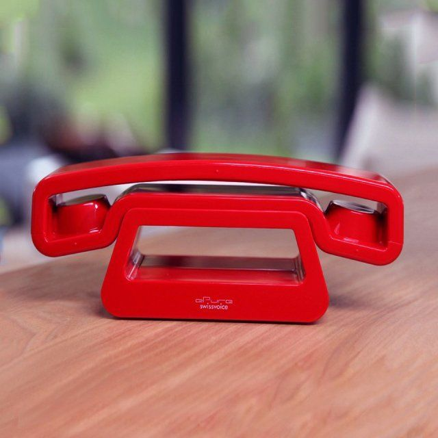 red house-phone