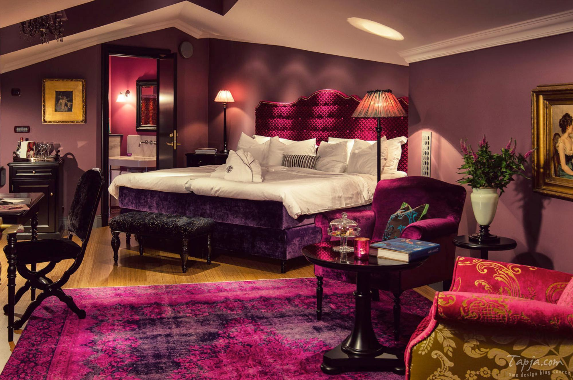 dark purple rooms. elegant dark purple room ideas purple passion