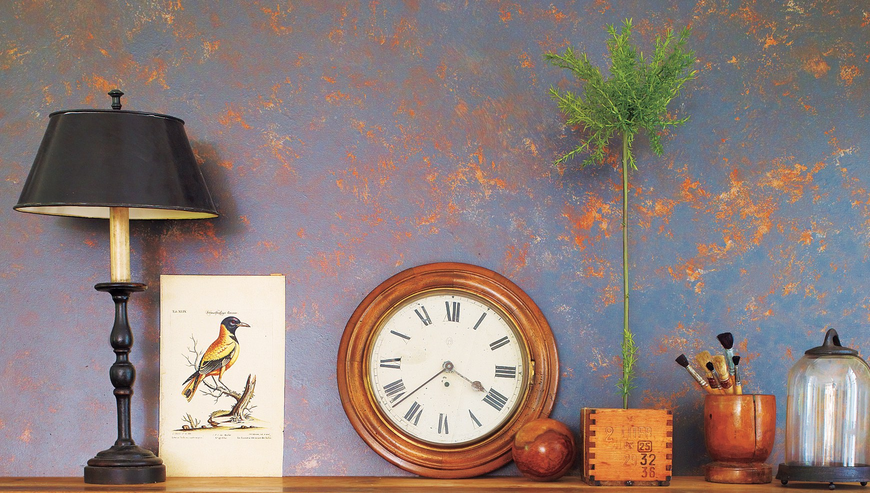 8 absolutely creative ways to paint your walls for Different ways to paint walls