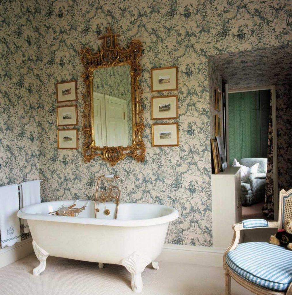 victorian-styled bathroom