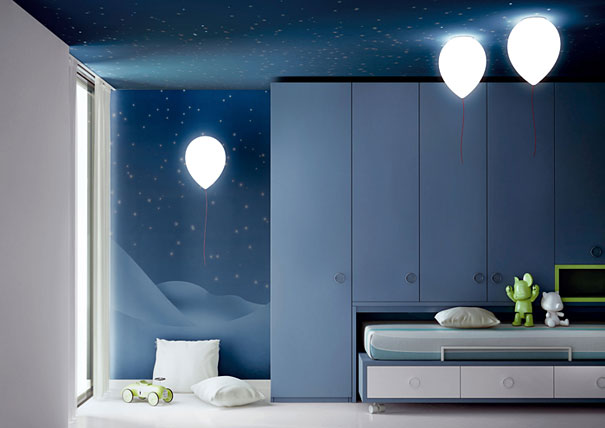 balloon ambient bedroom lights
