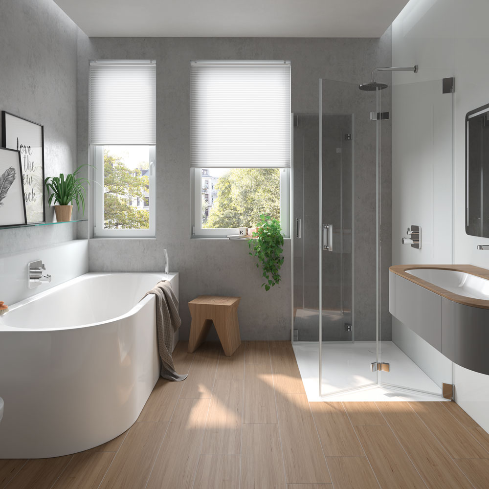 plain simple bathroom design