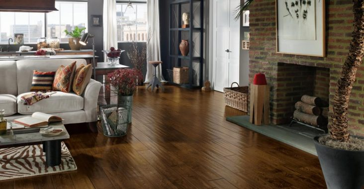loft wood flooring at home