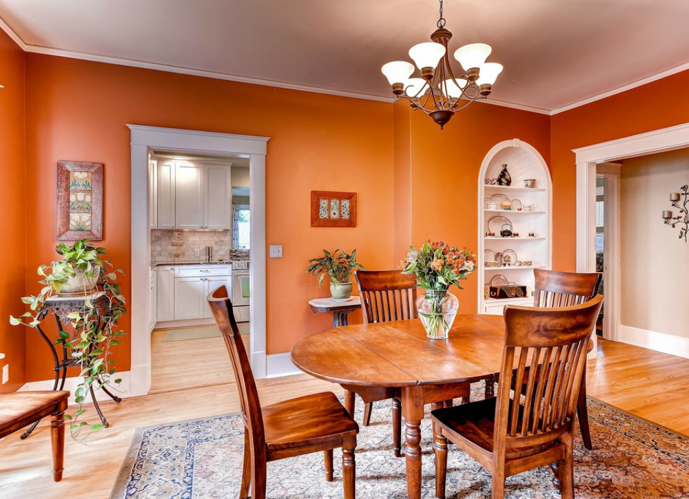 5 of the best colours for your dining room revealed for Popular dining room colors