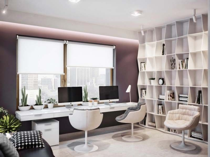 Designing A Home Office officemodern minimalist home office design with wooden desk cabinet and cool black chair ideas Designing Home Office Perfect Designing The Future Is Here With Designing Home Office