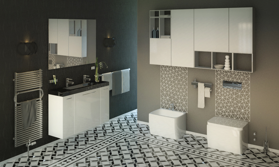 6 Fantastic Ways To Easily Rock Geometric Tiles At Home