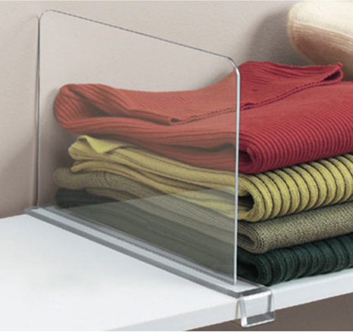 shelf end clothes