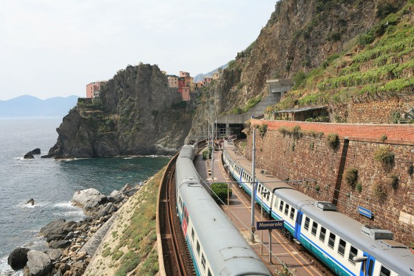 Manarola train station