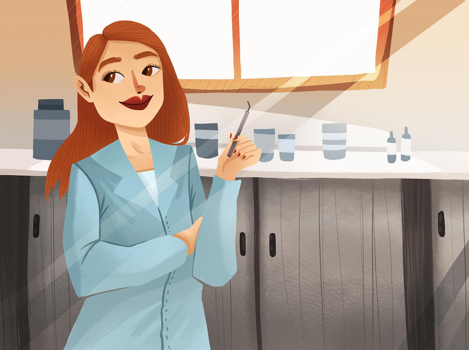 每個人幾乎都有補牙的經驗,補牙須達成兩件事:降低二次蛀牙、美觀,補牙也要補到看不出來才叫厲害。由於樹脂本身怕水,因此進行補牙前,需要使用一個防水的橡皮障把牙齒與口腔內部隔開。過程須配合顯微鏡放大設備的輔助。