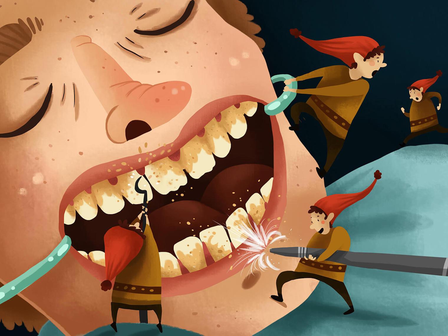 未妥善清潔牙菌斑是造成牙周病的主因,抽煙、懷孕、壓力、特定藥物、磨牙、糖尿病、其他全身性疾病(如白血病、愛滋病等。)也是導致牙周病的高風險因子。