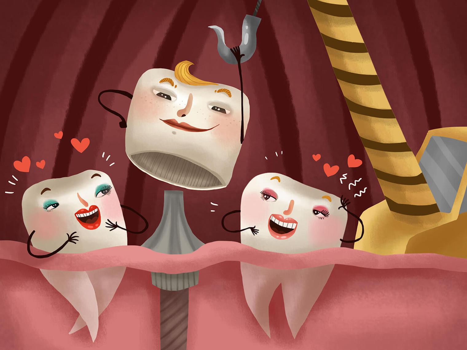 缺牙破壞美觀,影響進食、咀嚼與咬合。穆樂斥資投入精品設備水雷射,專利牙科先進技術的設備,能有效發揮「少疼痛、少流血、快速恢復」的特性