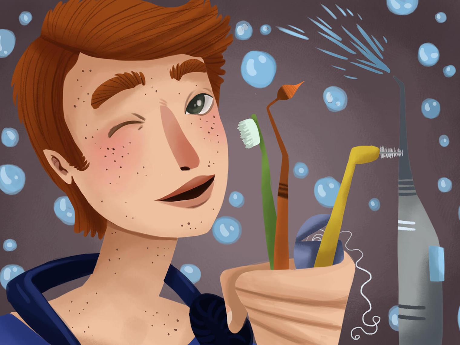 洗牙其實是俗稱,正式的說法是「結石刮除」,就是把牙齒與牙齦一帶積存的牙結石清除掉。牙結石一開始是乳白色物質、較軟,填塞在牙縫(就是我們常見的,一整天工作在外沒刷牙,回到家時,發現牙齦與牙縫之間那個白白的東西)。