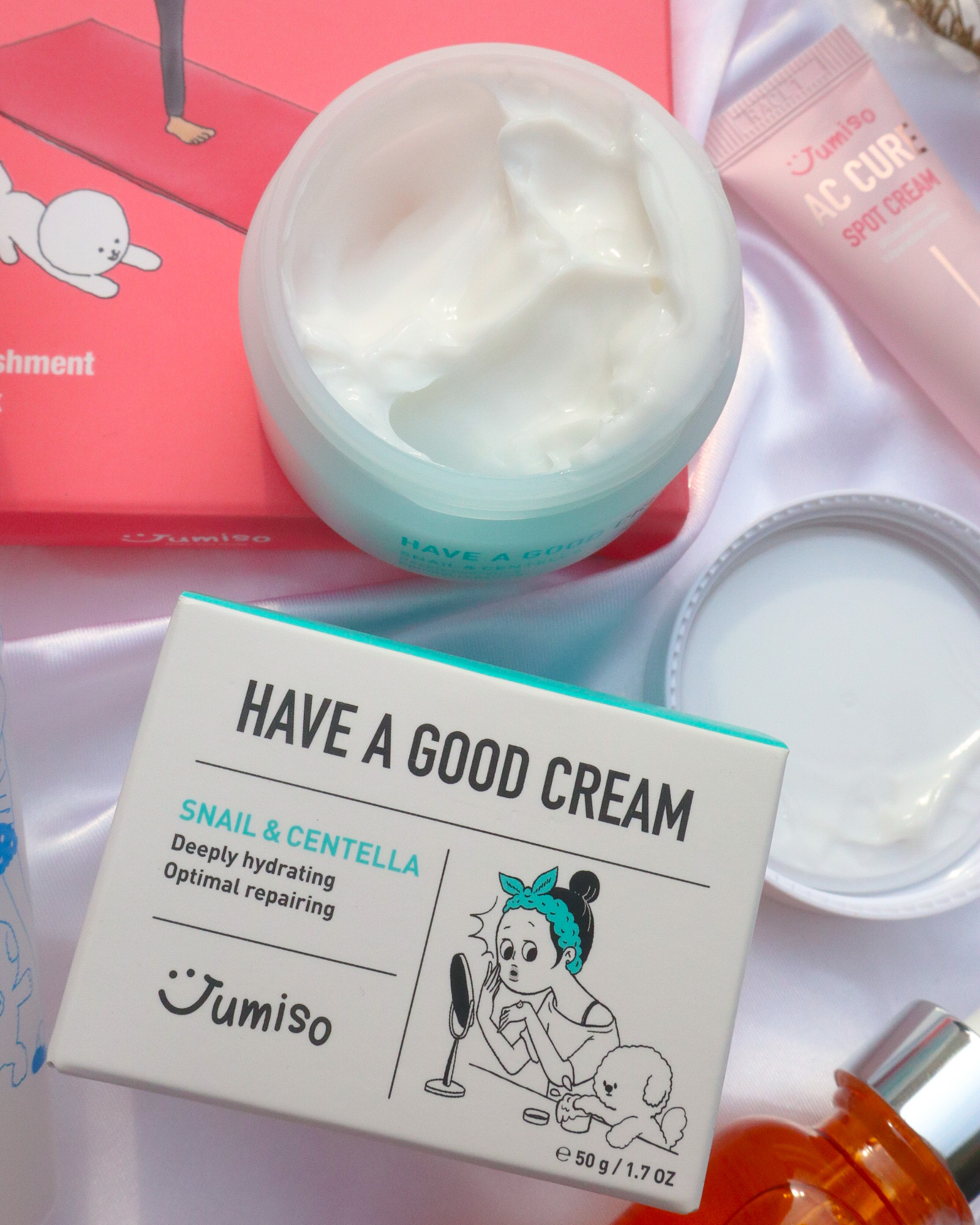 Jumiso Have a Good Cream Snail & Centella Review