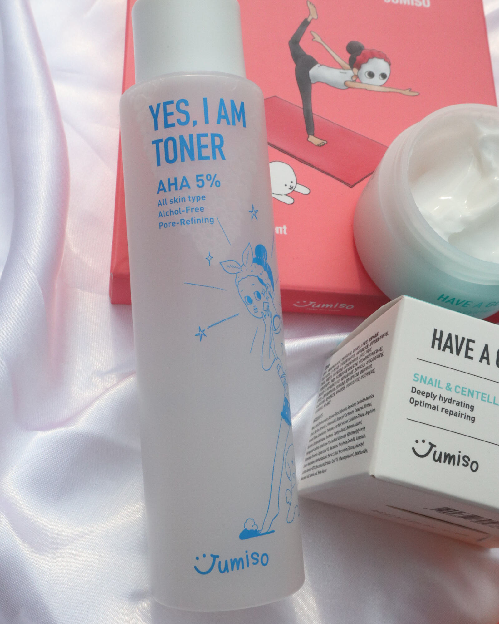 Jumiso Yes I Am Toner AHA 5% Review