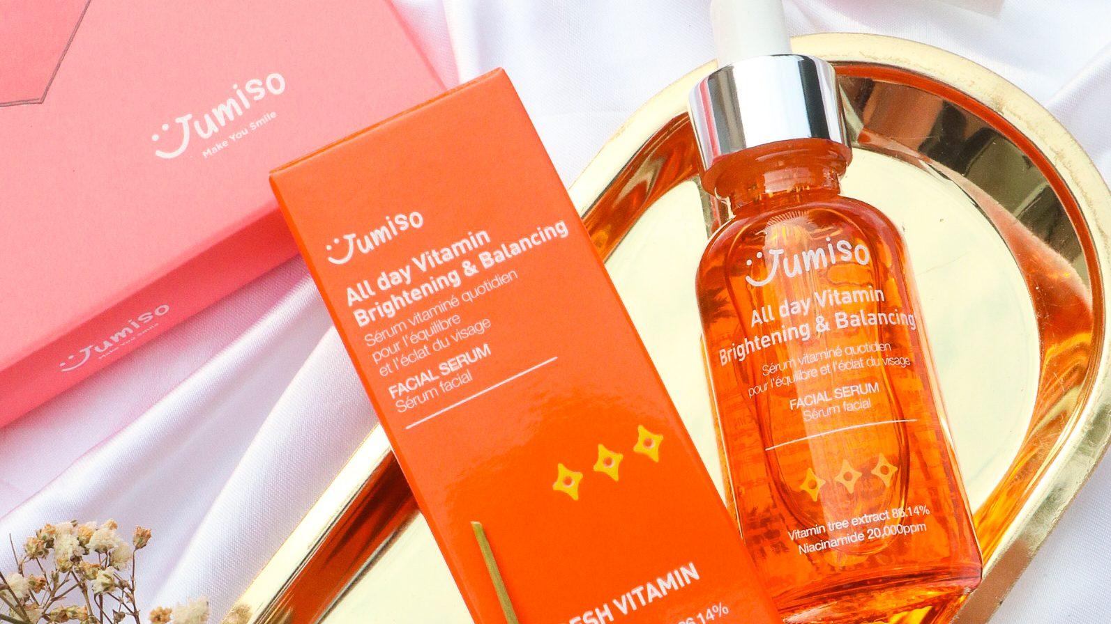 Jumiso All Day Vitamin Brightening and Balancing Facial Serum Review