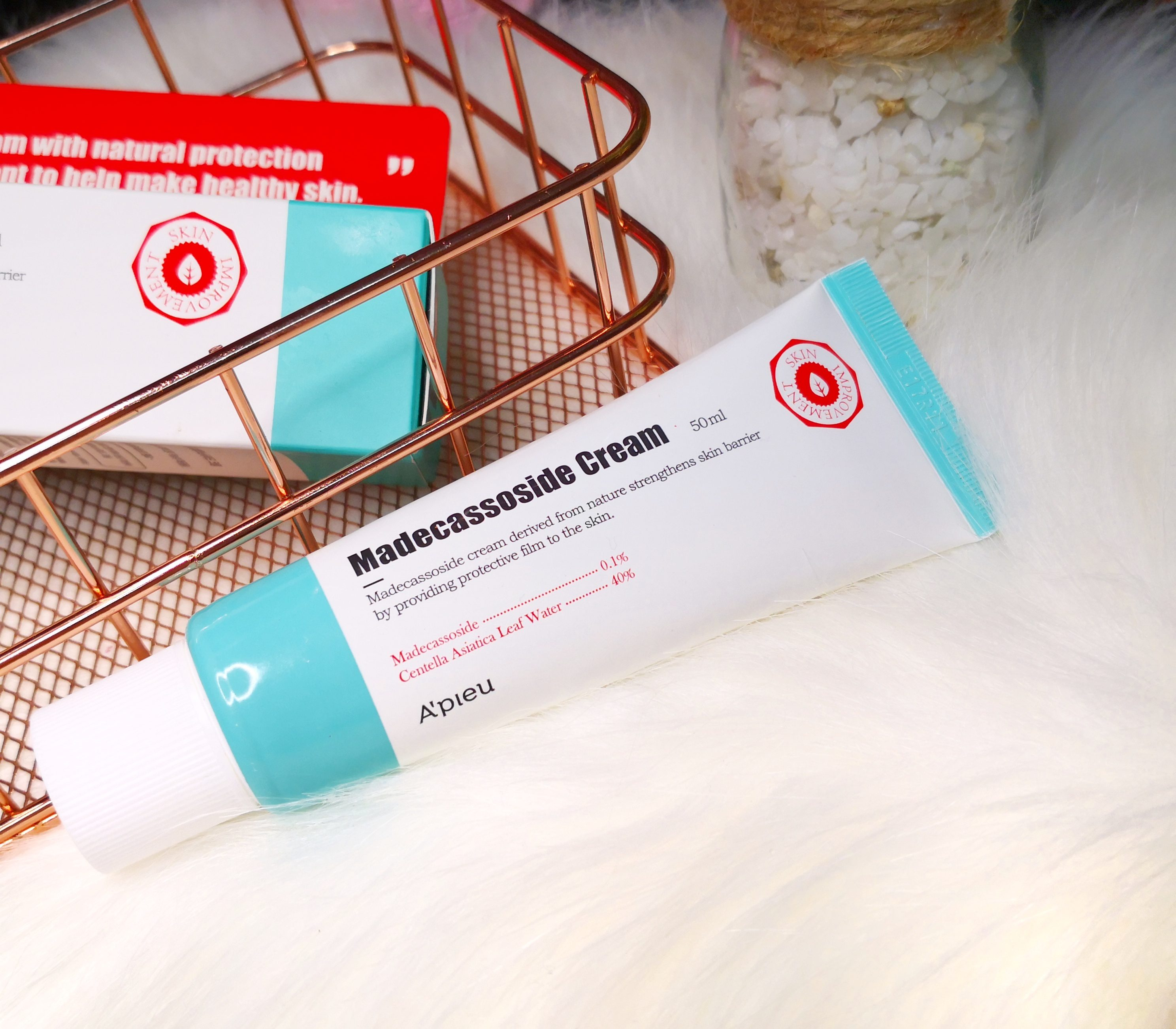 Madecassoside Cream : Soothed & Moisturized Skin