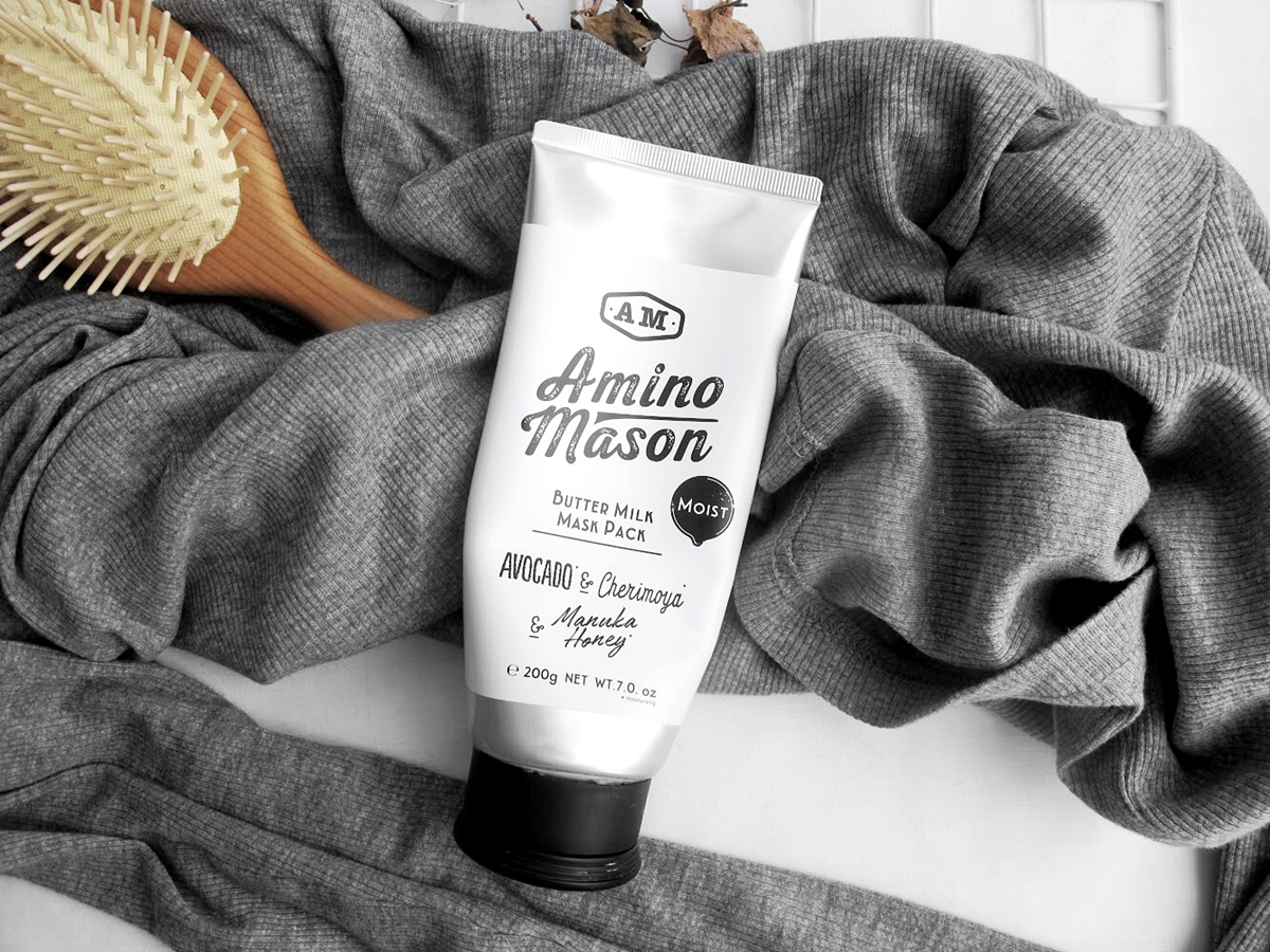 [REVIEW] AMINO MASON Moist Butter Milk Mask Pack