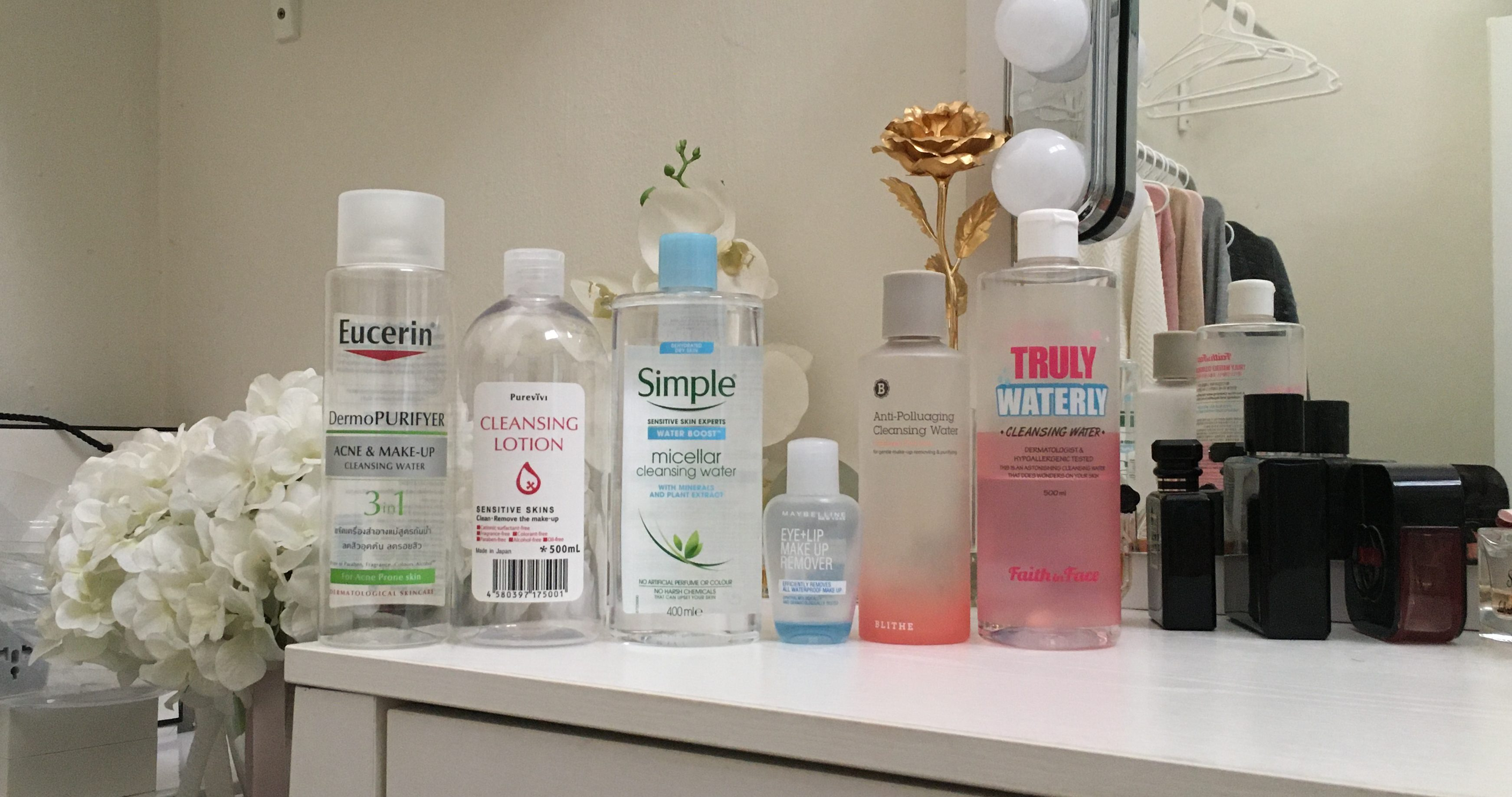 Things I Look For In A Micellar Water Or A Cleansing Water