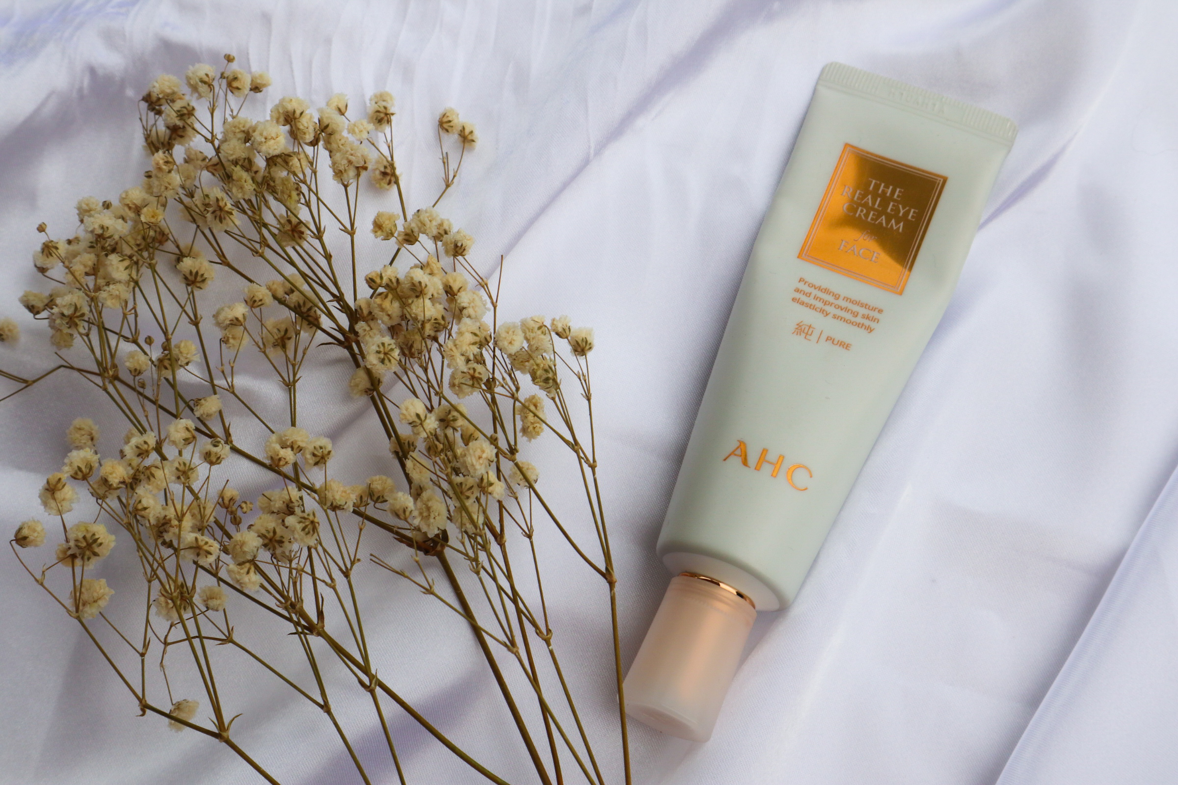 Eye Cream for FACE? | AHC The Pure Real Eye Cream for Face Review