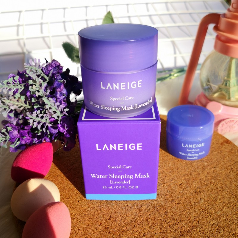 Laneige Water Sleeping Mask (Lavender) Review