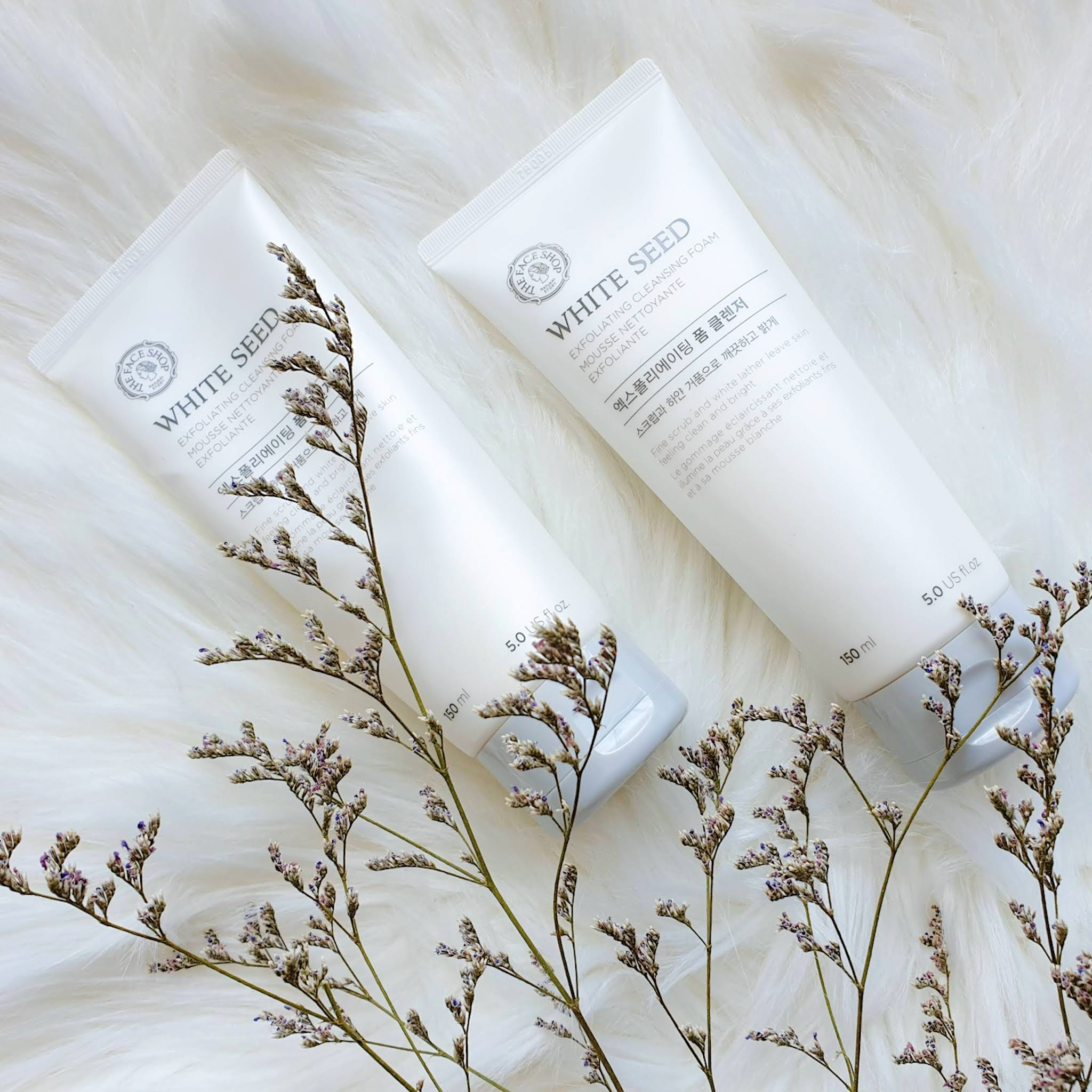 THE FACE SHOP White Seed Exfoliating Cleansing Foam | Review