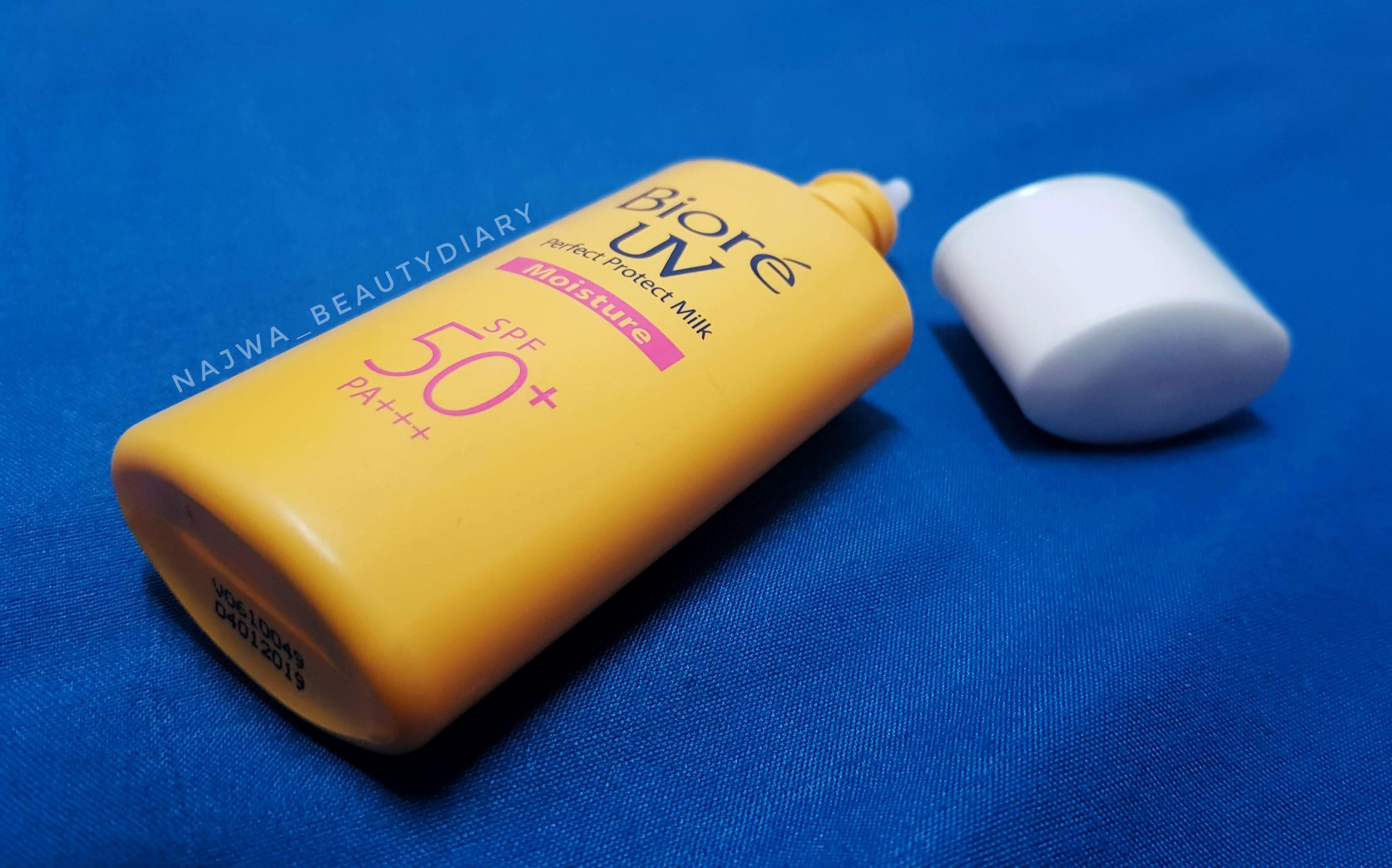 Biore UV Perfect Protect Milk Review
