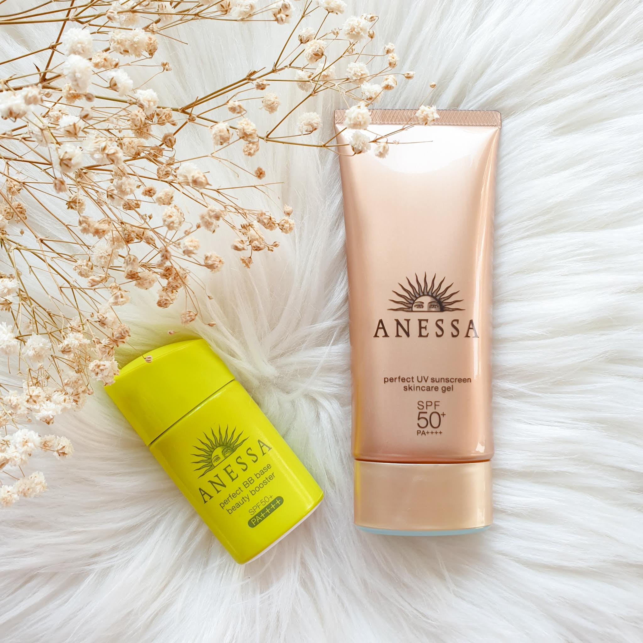 Shiseido ANESSA Perfect UV Sunscreen Gel SPF50+ PA++++ & Perfect BB Base Beauty Booster SPF50+ PA++++ | Review