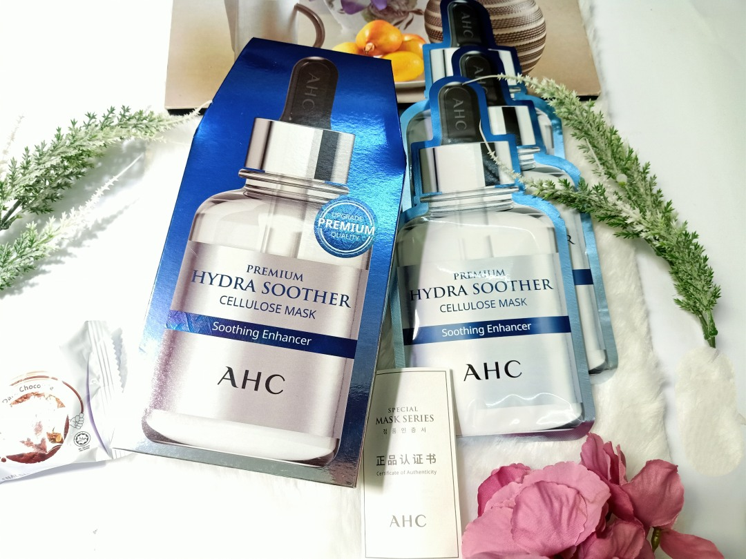 Review | AHC Premium Hydra Soother Cellulose Mask Soothing Enhancer