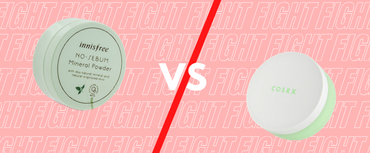 Battle of the Mineral Powders: Innisfree vs Cosrx