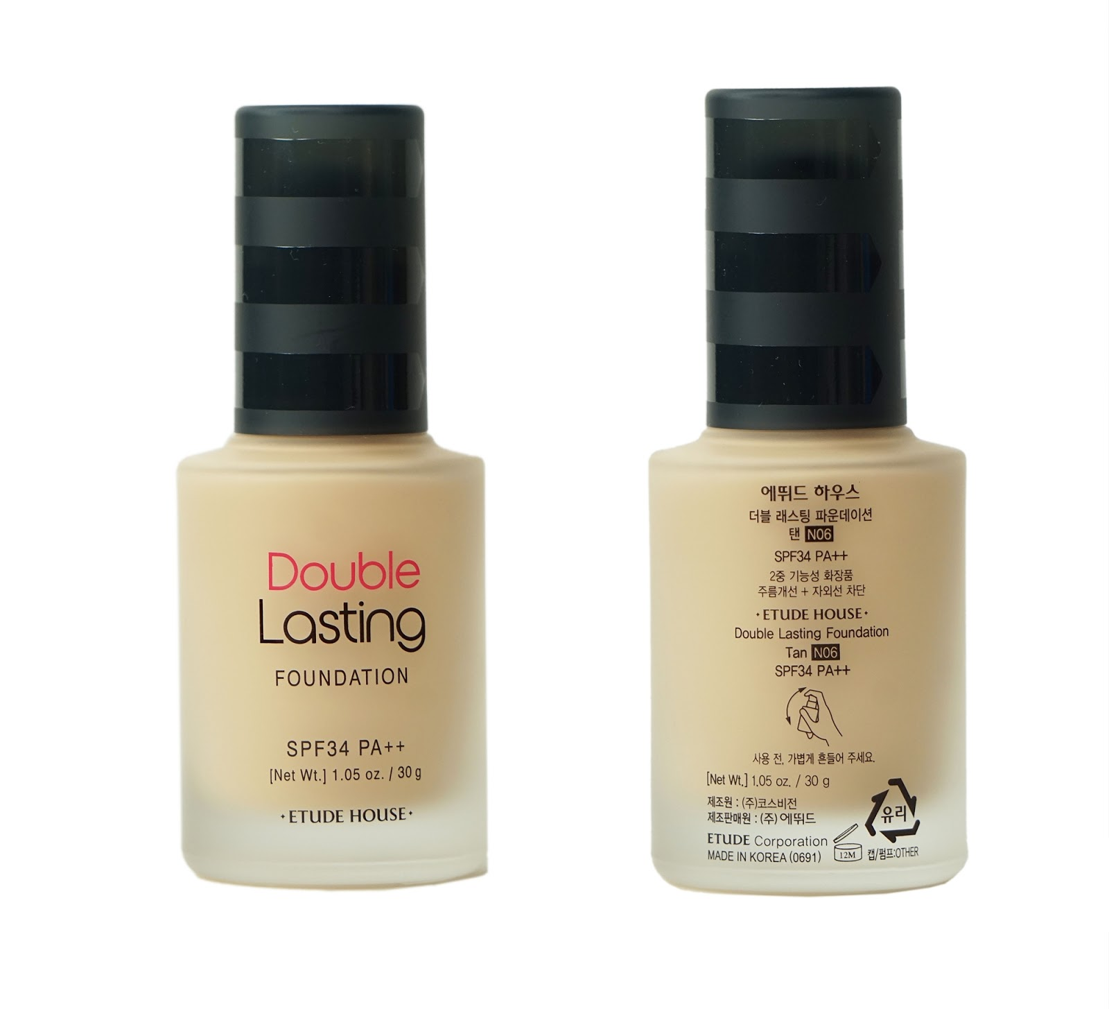 Etude House Double Lasting Foundation SPF34/PA++ Review