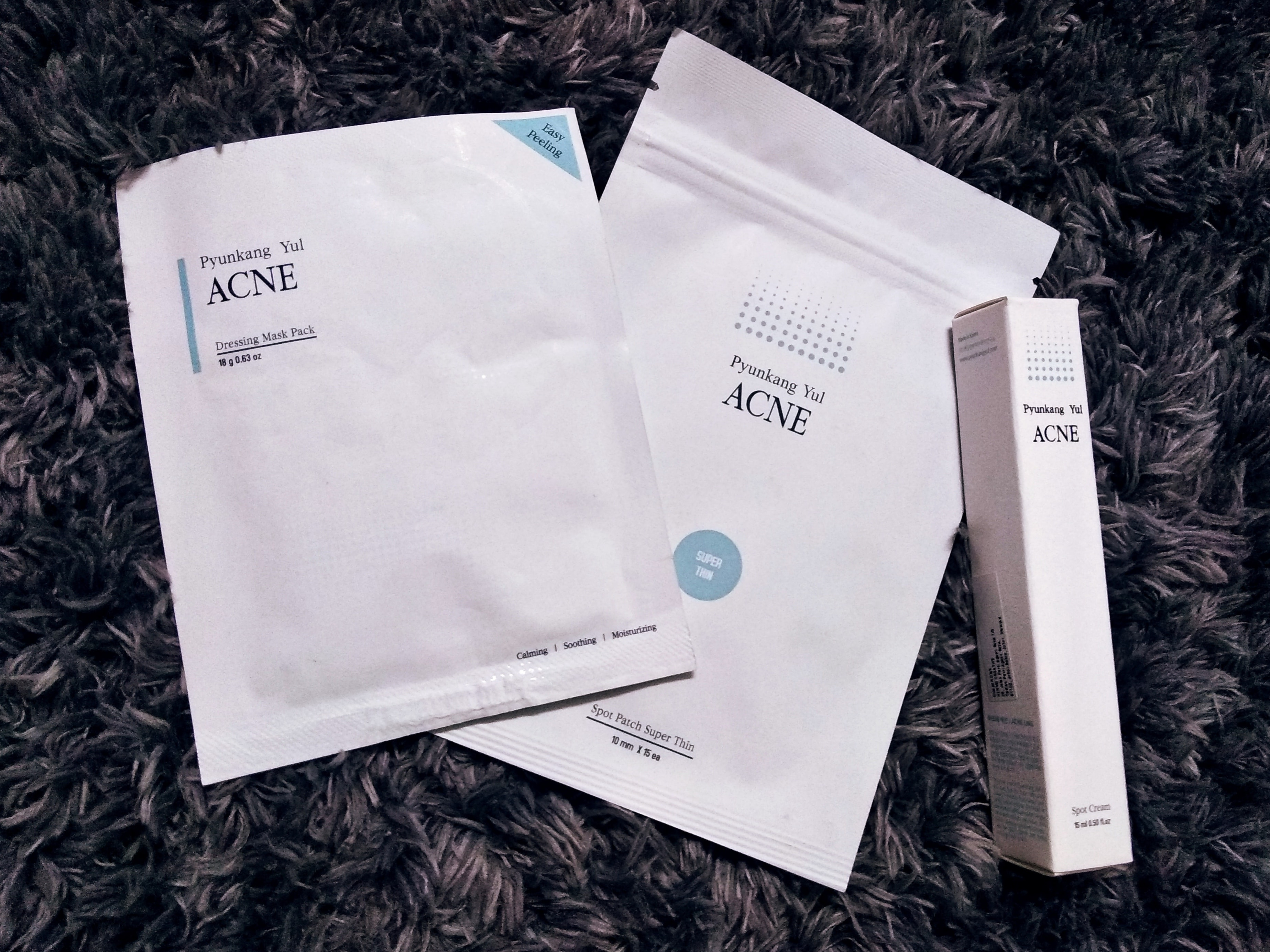 Pyunkang Yul Acne Line Products Review Part 2