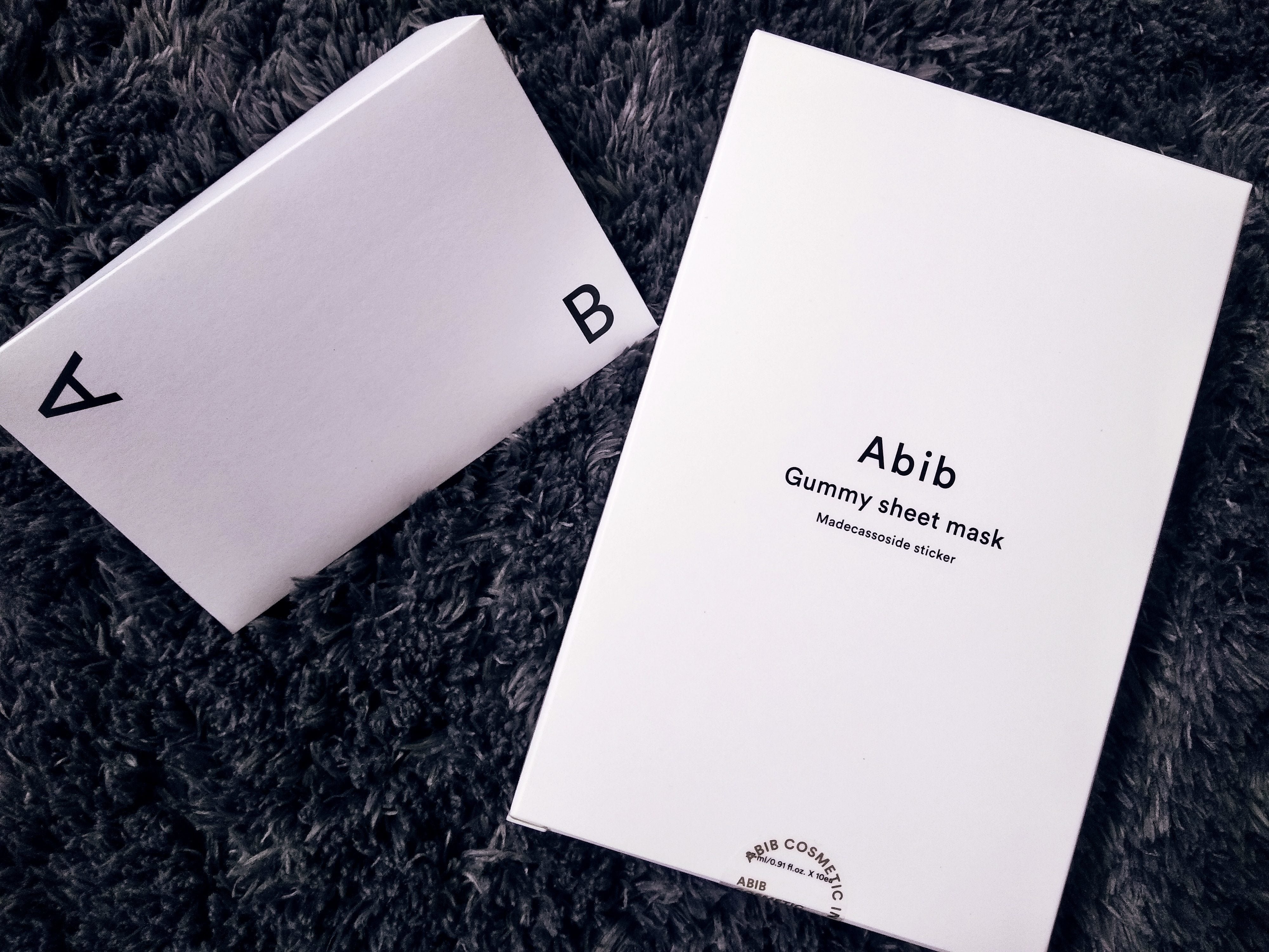 Review | Abib Gummy Sheetmask Madecassoside Sticker