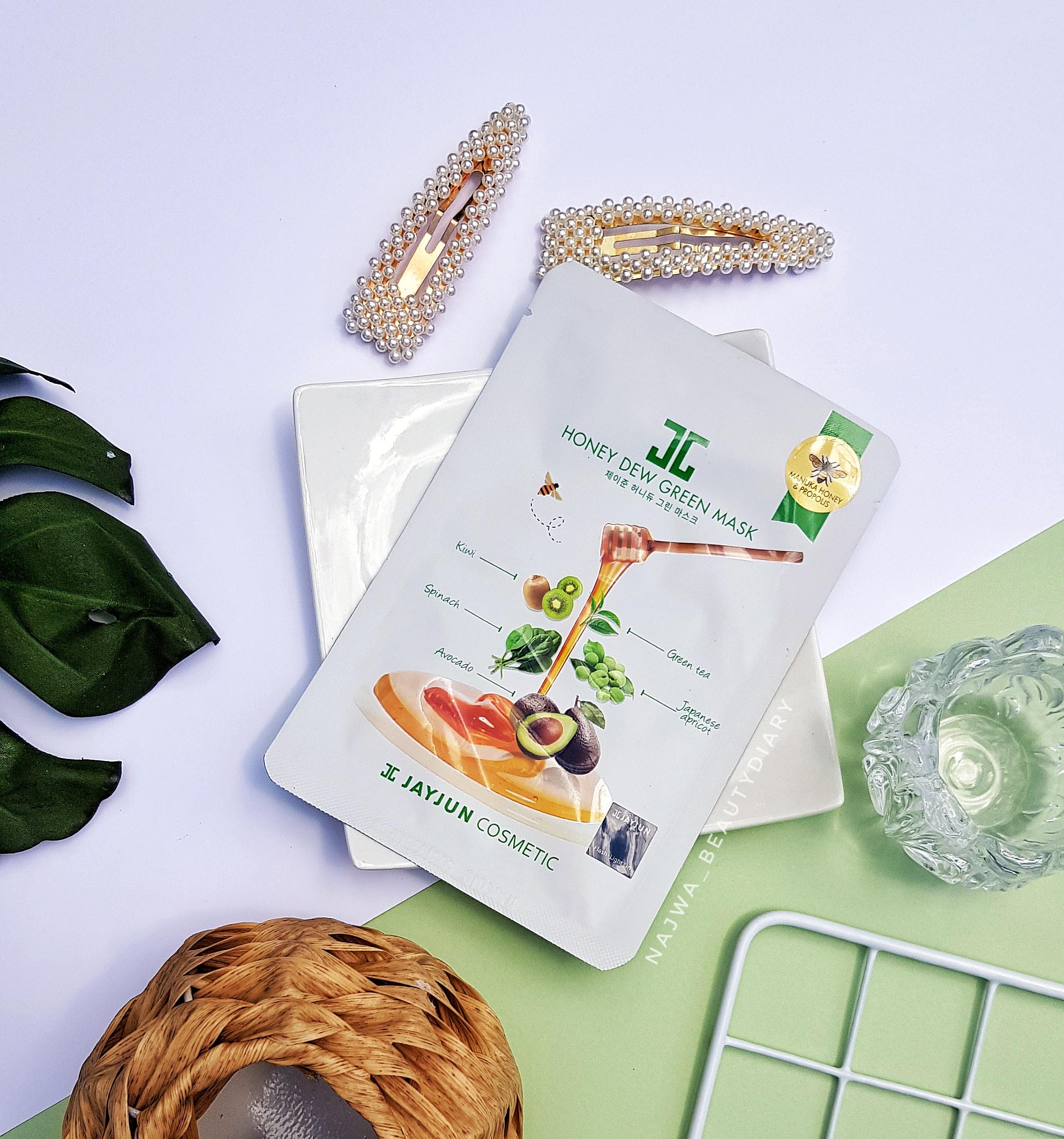 REVIEW | JAYJUN Honey Dew Green Mask