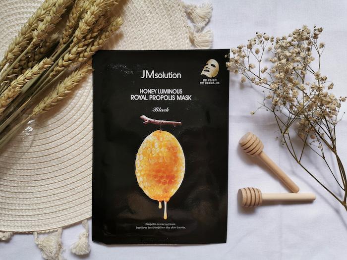 Review   JM Solution Honey Propolis Mask