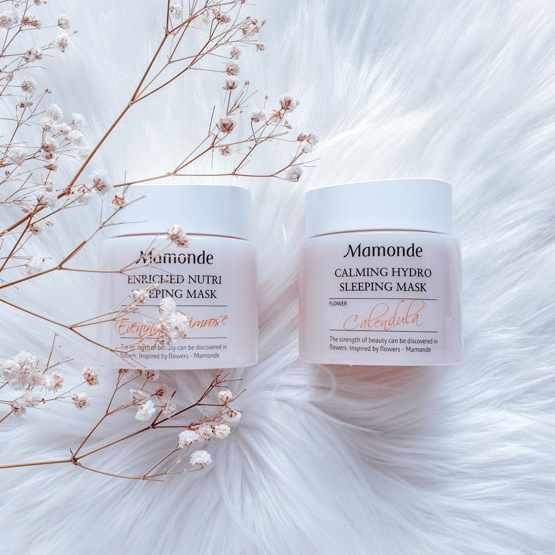 Mamonde Calming Hydro Sleeping Mask & Enriched Nutri Sleeping Mask | Review