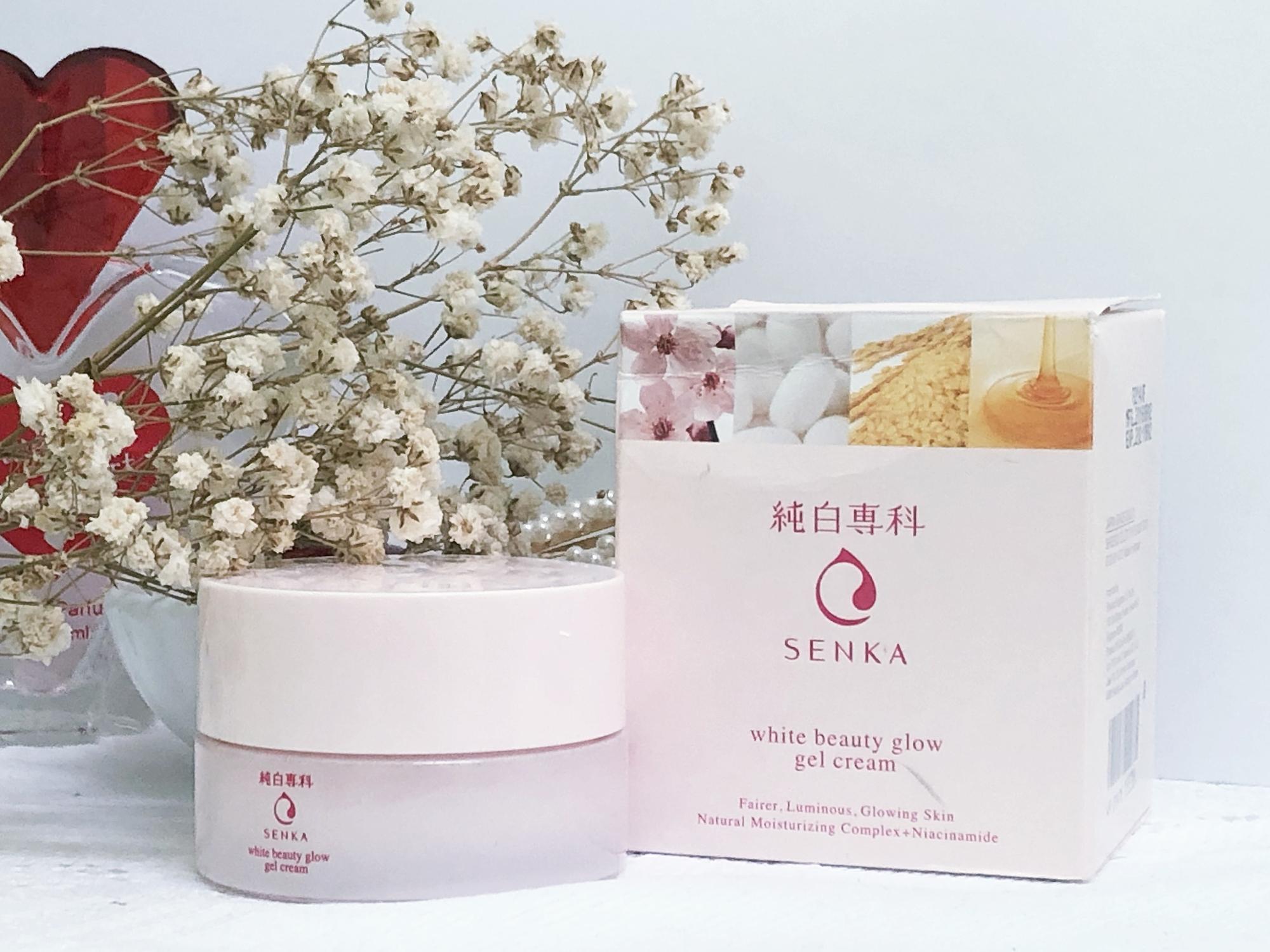 Review | Senka Junpaku White Beauty Glow Gel Cream