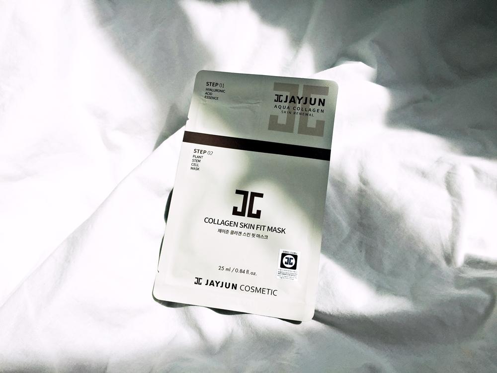 Review   JAYJUN Collagen Skin Fit Mask