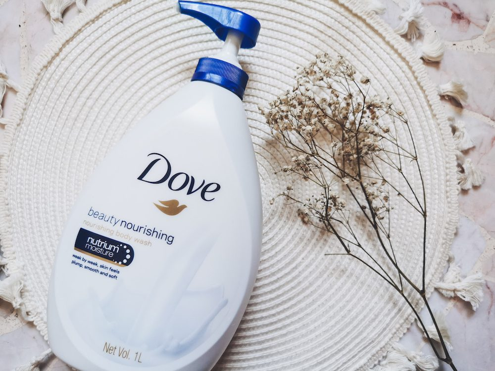 Dove Gentle Exfoliating Body Wash Review