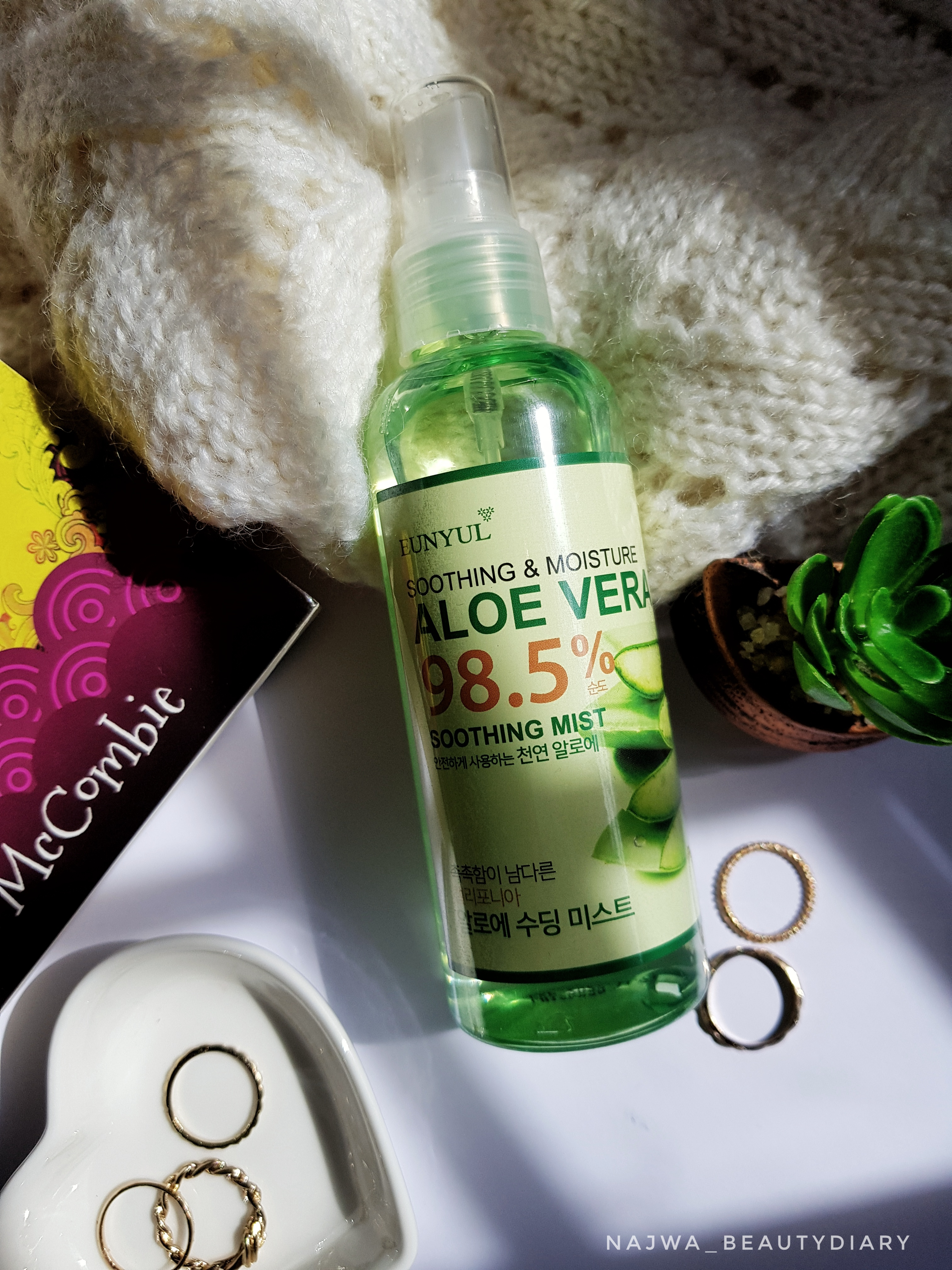 REVIEW | Eunyul Aloe Vera Soothing Mist 98.5%