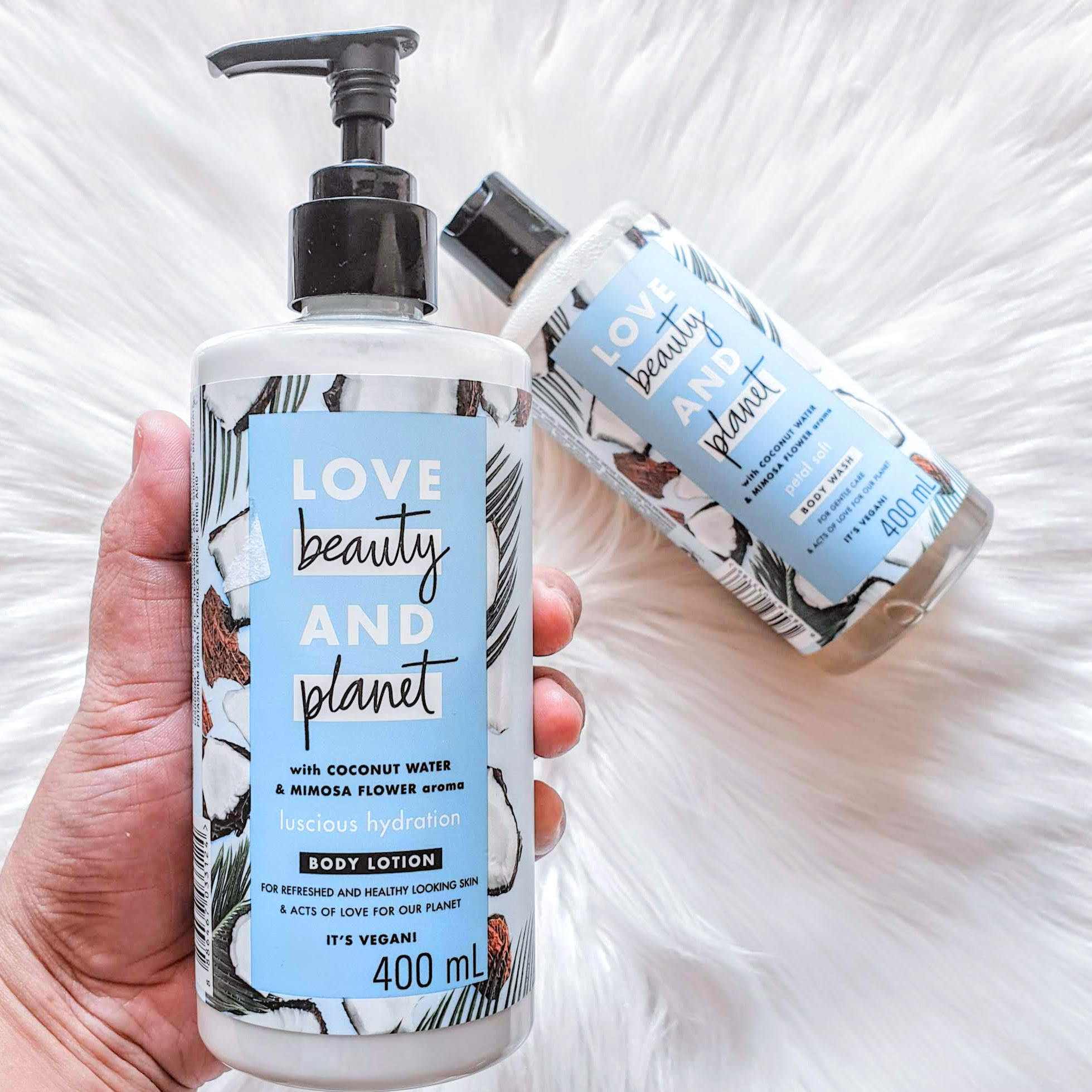 Love Beauty and Planet  Luscious Hydration Body Lotion | Review