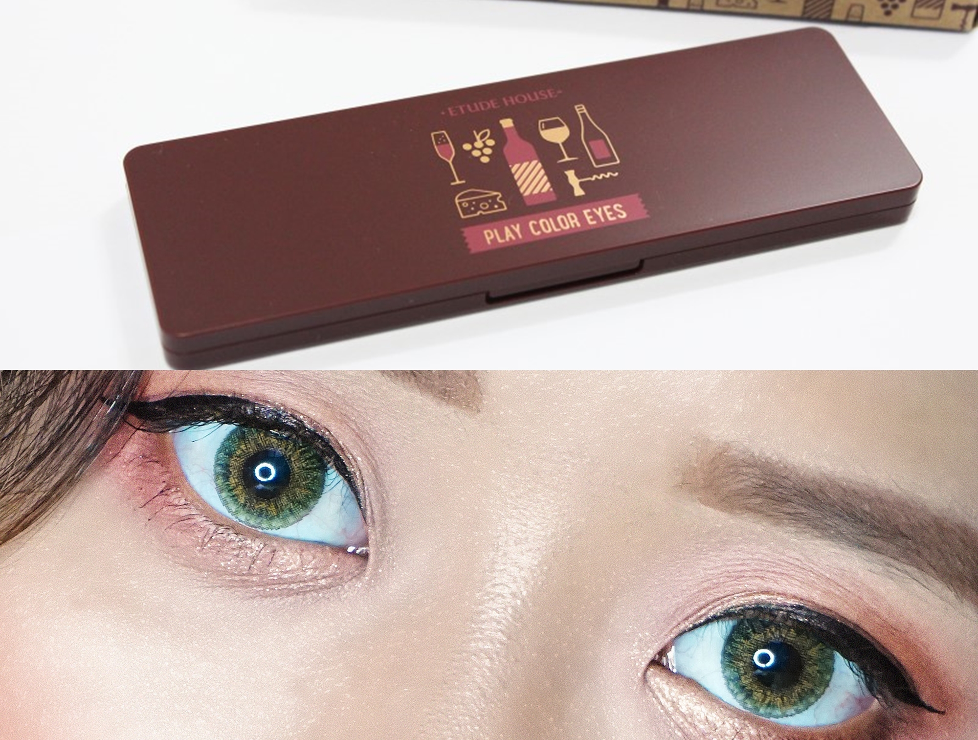 REVIEW | Etude House Play Color Eyes [#Wine Party]