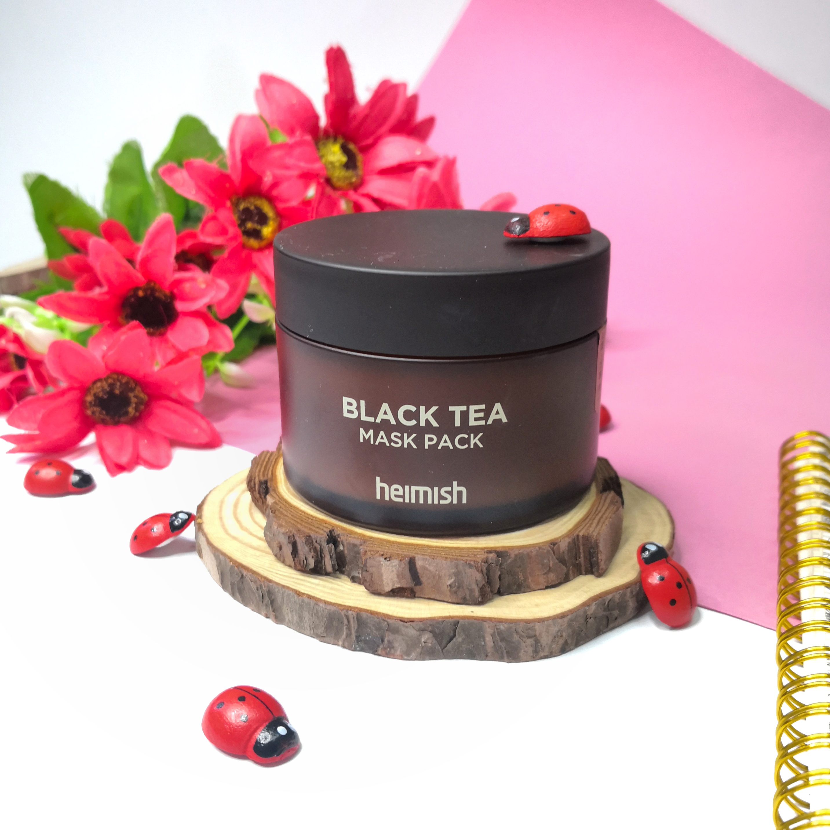 Achieve Smoother Skin with Heimish Black Tea Mask Pack