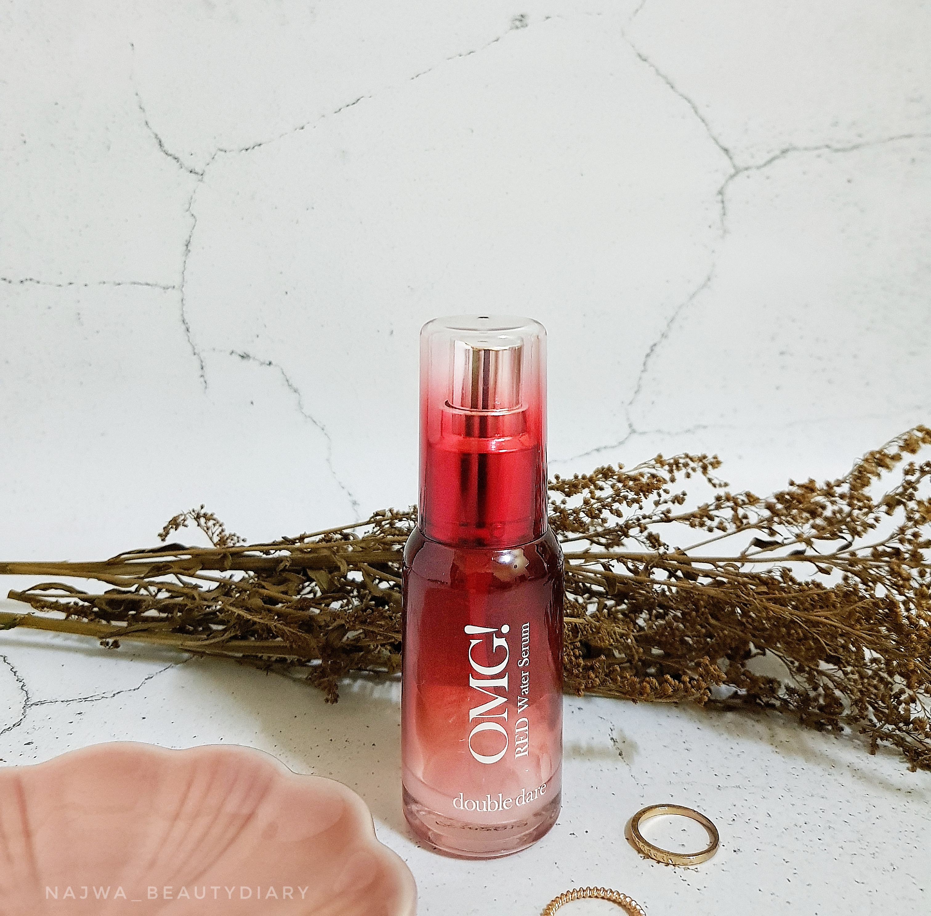 REVIEW   OMG! Red Water Serum Made Me Go OMG