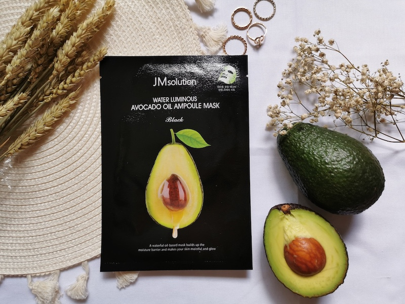 REVIEW | JM Solutions Water Luminous Avocado Oil Ampoule Mask